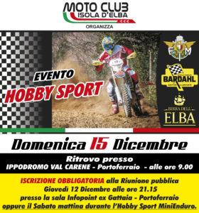Hobby sport 15 Dicembre 2019